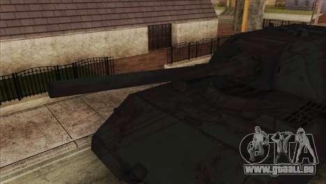 Panzerkampfwagen VIII Maus pour GTA San Andreas sur la vue arrière gauche