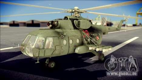 Mil Mi-8 Polish Air Force Afganistan pour GTA San Andreas