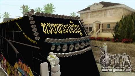 Bus Thailand pour GTA San Andreas vue de droite