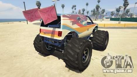 GTA 5 Vapid The Liberator Steven Universe Sticker v2.0 arrière vue latérale gauche
