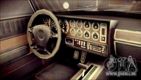 GTA 5 Dewbauchee JB 700 IVF pour GTA San Andreas vue de droite