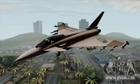 Eurofighter Typhoon 2000 UPEO für GTA San Andreas
