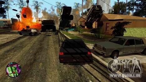 Transport V2 au lieu de balles pour GTA San Andreas dixième écran