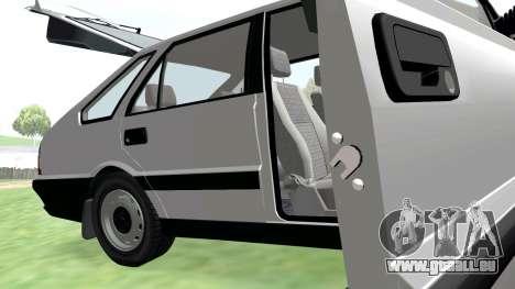 Daewoo FSO Polonez Caro Plus ABC 1999 pour GTA San Andreas vue de dessus
