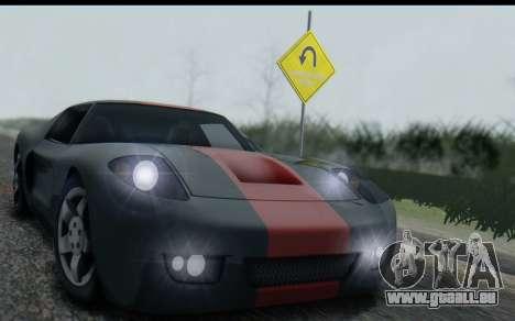 Bullet PFR v1.1 HD für GTA San Andreas