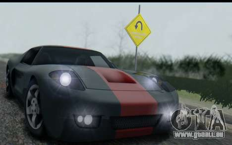Bullet PFR v1.1 HD pour GTA San Andreas