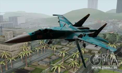 SU-27 Flanker A Warwolf Squadron für GTA San Andreas