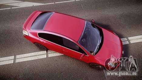 Nissan Altima 3.5 SE für GTA 4 rechte Ansicht
