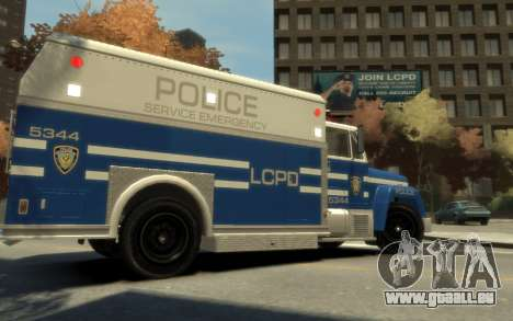 GTA 3 Enforcer HD pour GTA 4 est une gauche