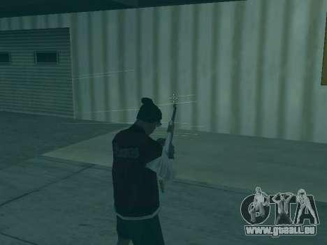 Die Flugbahn der Kugeln für GTA San Andreas