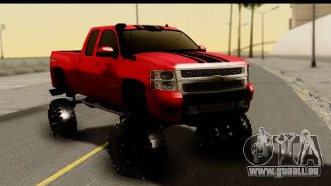 Chevrolet Silverado OffRoad pour GTA San Andreas