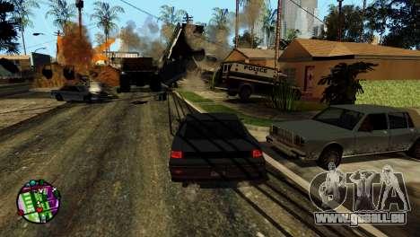 Transport V2 au lieu de balles pour GTA San Andreas onzième écran