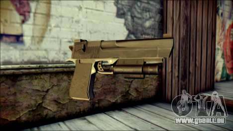 Rumble 6 Desert Eagle für GTA San Andreas