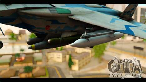 F-15E 303rd TFS Fighting Dragons für GTA San Andreas rechten Ansicht