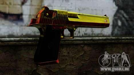 Desert Eagle Spanien für GTA San Andreas zweiten Screenshot