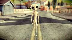 Gray Alien Skin Skin pour GTA San Andreas