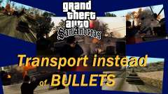 Transport-V2 statt Kugeln