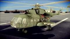 Mil Mi-8 Polish Air Force Afganistan für GTA San Andreas