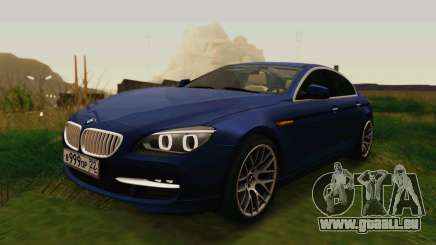BMW 6 Series Gran Coupe 2014 für GTA San Andreas