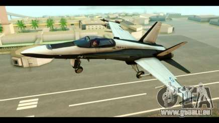 McDonnell Douglas FA-18 HARV v2 pour GTA San Andreas