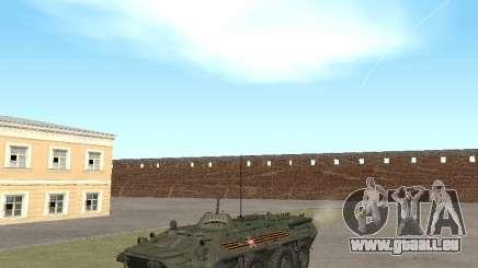 BTR-80 Avant pour GTA San Andreas