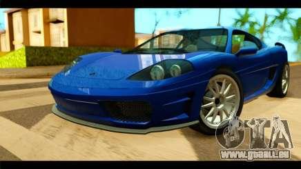 GTA 5 Grotti Turismo für GTA San Andreas