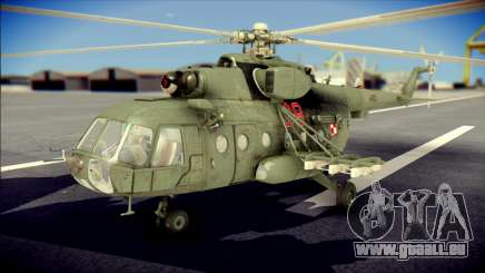 Mil Mi-8 Polish Air Force Afganistan für GTA San Andreas