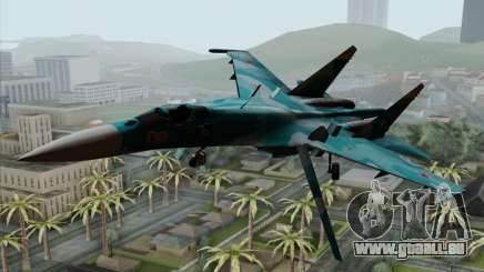 SU-27 Flanker A Warwolf Squadron pour GTA San Andreas