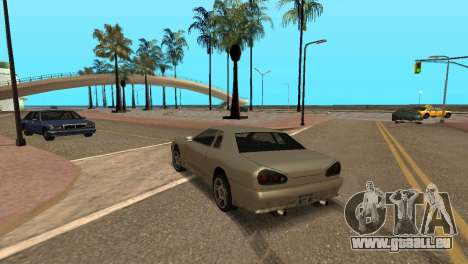 Amélioration de la physique de la conduite pour GTA San Andreas troisième écran