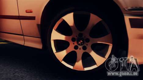 BMW 316i Touring für GTA San Andreas Rückansicht