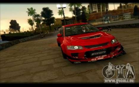 Mitsubishi Lancer Evolution IX Street Edition pour GTA San Andreas