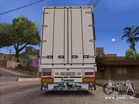 Tavria Krone pour GTA San Andreas sur la vue arrière gauche