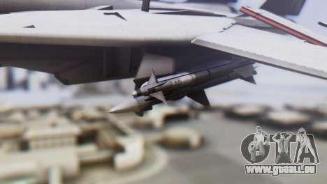 Grumman F-14A Tomcat für GTA San Andreas rechten Ansicht