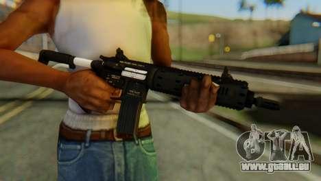 Carbine Rifle from GTA 5 v1 für GTA San Andreas dritten Screenshot