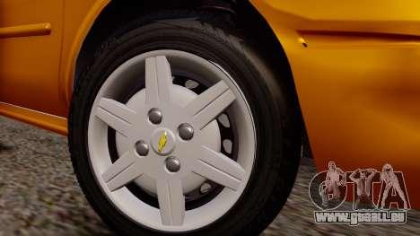 Chevrolet Corsa Classic 2009 v2 für GTA San Andreas rechten Ansicht