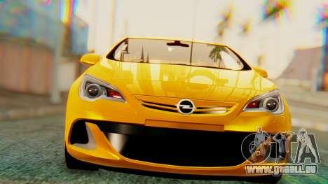 Opel Astra J OPC für GTA San Andreas linke Ansicht