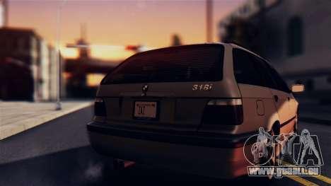 BMW 316i Touring für GTA San Andreas rechten Ansicht