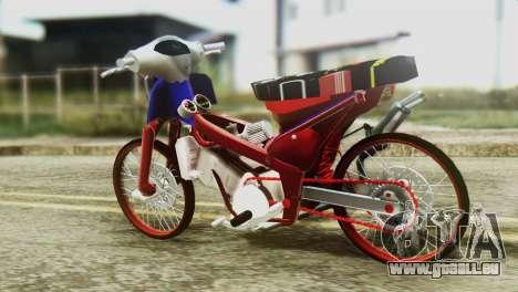 Dream 110 cc of Thailand für GTA San Andreas linke Ansicht
