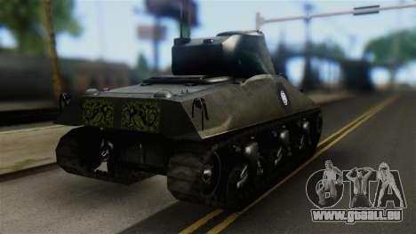 M4 Sherman Gawai Special 2 pour GTA San Andreas laissé vue