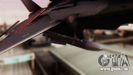 Grumman F-14D Super Tomcat pour GTA San Andreas vue de droite