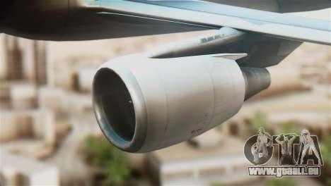 LOT Polish Airlines Airbus A320-200 für GTA San Andreas rechten Ansicht