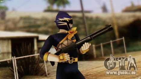 Power Rangers Skin 4 pour GTA San Andreas troisième écran