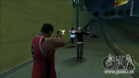 GTA 5 Kill Flash Effect pour GTA San Andreas deuxième écran