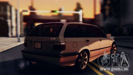 BMW 316i Touring pour GTA San Andreas laissé vue