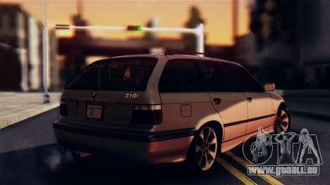 BMW 316i Touring für GTA San Andreas linke Ansicht