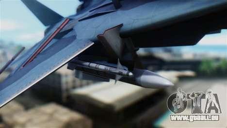 F-14J Super Tomcat JASDF pour GTA San Andreas vue de droite