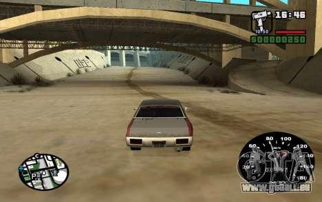 Indicateur de vitesse de VAZ 2105 pour GTA San Andreas