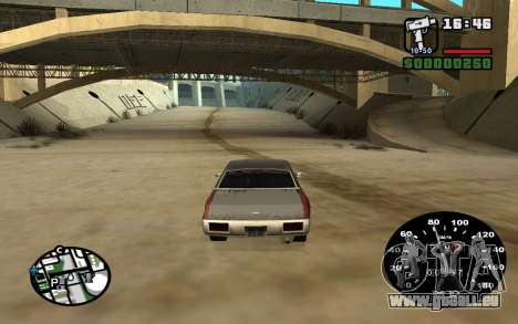 Tacho von VAZ 2105 für GTA San Andreas