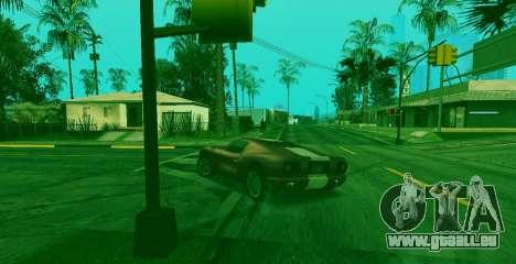 La capacité spéciale de Franklin indicateur pour GTA San Andreas troisième écran