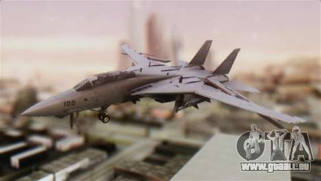 F-14A Tomcat VFA-211 Fighting Checkmates für GTA San Andreas